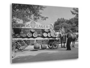 Beer Wagon in the City of Copenhagen
