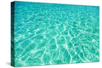 Green Water Background, Elafonisi Beach, Crete, Greece by beerkoff