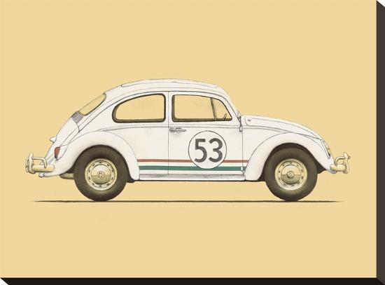 Beetle-Florent Bodart-Stretched Canvas