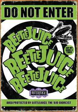 Beetlejuice - Do Not Enter