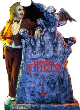 Beetlejuice - Here Lies Betelgeuse Lifesize Standup