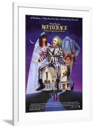 Beetlejuice--Framed Poster