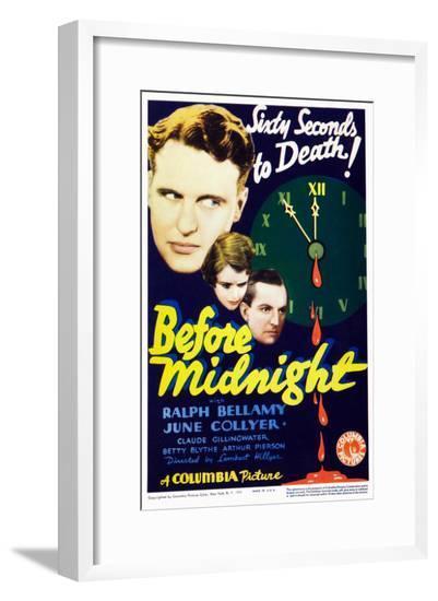 Before Midnight--Framed Giclee Print