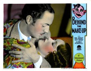 Behind the Make-Up, William Powell, Fay Wray, 1930