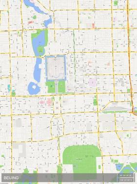 Beijing, China Map