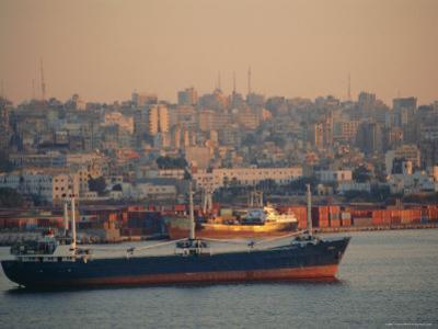 Beirut Harbour, Lebanon, Middle East by I Vanderharst