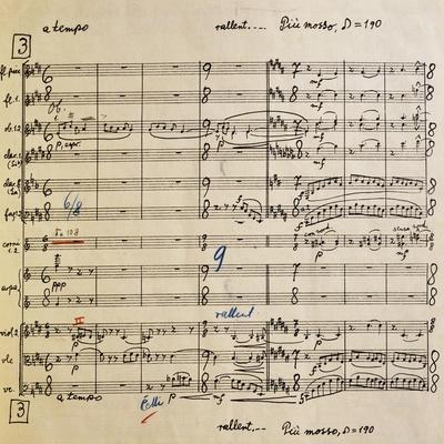 Score for Cantata Profana