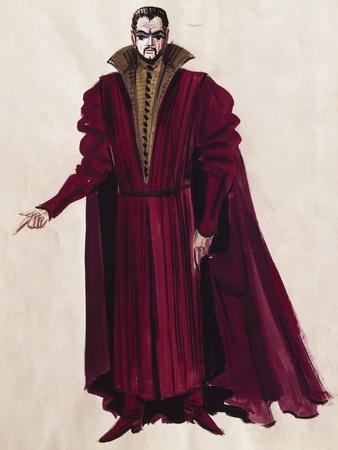 Stage Costume for Opera Bluebeard's Castle