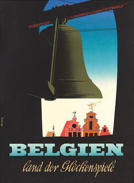 Belgien: Land der Glockenspiele - Land of Glockenspiel c.1950