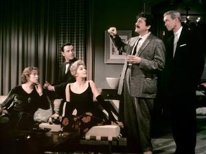 BELL, BOOK AND CANDLE, 1958 directed by RICHARD QUINE Elsa Lanchester, Jack Lemmon, Kim Novak, Erni