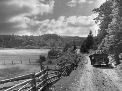 Dr. Alexander Graham Bell and Friend Pause During a Trip Near Dingwall by Bell Collection