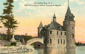 Bell Tower Heart Island, Thousand Islands, New York