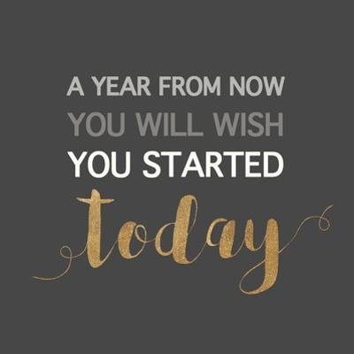 A Year from Now… by Bella Dos Santos
