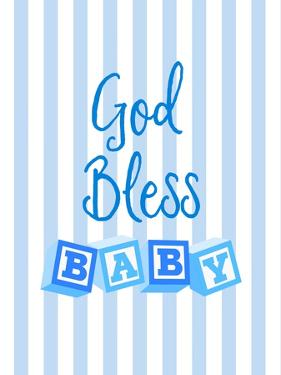 God Bless Baby Blue by Bella Dos Santos