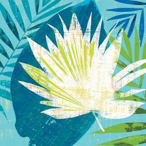 Tropical Leaf Silhouette 1 by Bella Dos Santos