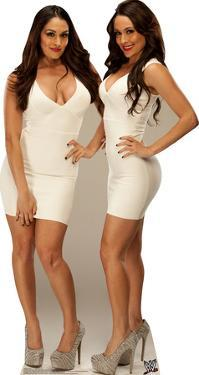 Bella Twins - WWE Lifesize Standup