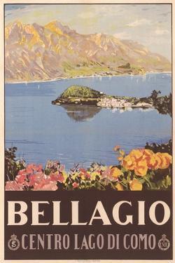Bellagio Travel Poster
