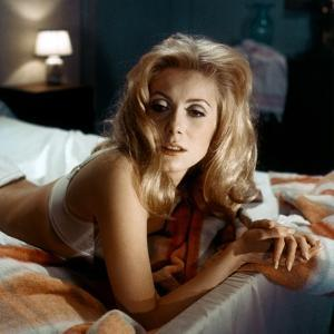 Belle by jour by Luis Bunuel with Catherine Deneuve, 1967 (photo)