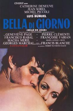 Belle de Jour, Italian Movie Poster, 1968
