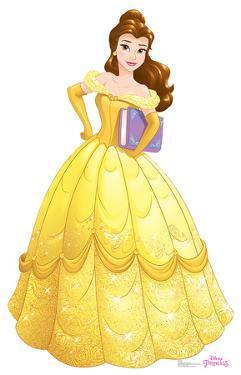 Belle - Disney Princess Friendship Adventures Lifesize Cardboard Cutout