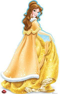 Belle Holiday - Disney Lifesize Standup
