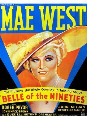 Belle of the Nineties, Mae West, 1934