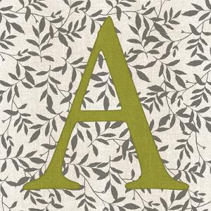 Leafy Letter - A by Belle Poesia