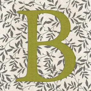 Leafy Letter - B by Belle Poesia