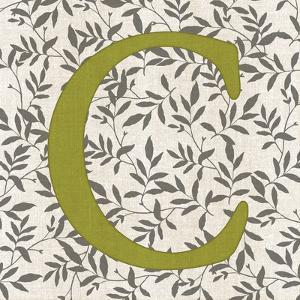 Leafy Letter - C by Belle Poesia