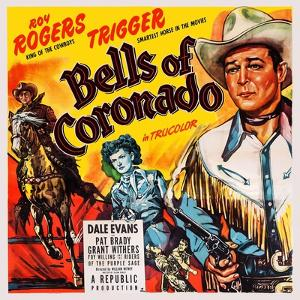 Bells of Coronado, Left and Right: Roy Rogers; Center: Dale Evans, 1950