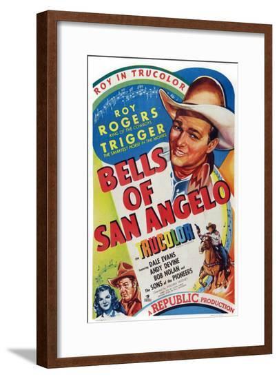 Bells of San Angelo--Framed Giclee Print