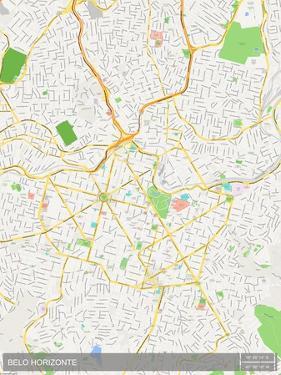 Belo Horizonte, Brazil Map