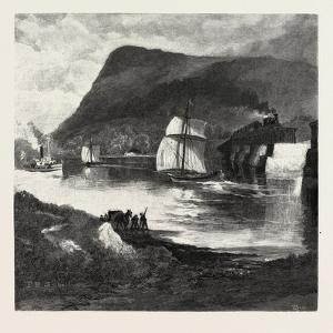Beloeil Mountain, from Richelieu River, Canada, Nineteenth Century