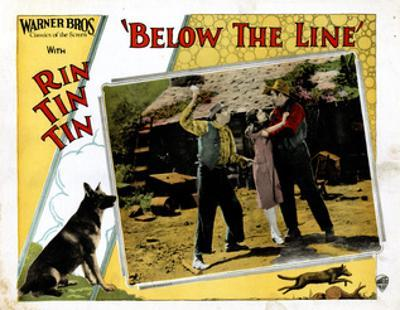 Below The Line, Rin Tin Tin, June Marlowe, 1925