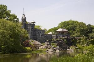Belvedere Castle at Mid Park Quadrant in Central Park, New York