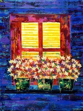 HOLIDAY WINDOW,2019 by Ben Bonart