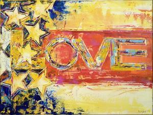 Love Flag by Ben Bonart