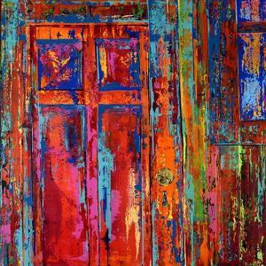 RED DOOR, 2019 by Ben Bonart