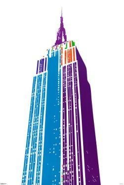 Empire State Building by Ben David