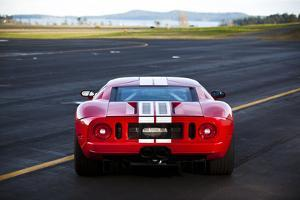 The Back of a 550 Horsepower Ford Gt Supercar on San Juan Island in Washington State by Ben Herndon