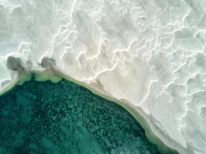 An Aerial View of Sand Dunes by Ben Horton