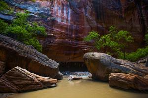 Dramatic Sandstone Formations in the Narrows by Ben Horton