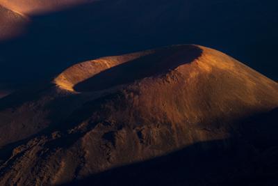 Haleakala Crater at sunset. by Ben Horton