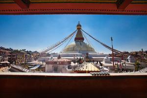 Kathmandu, Nepal: Boudhanath Stupa in Kathmandu by Ben Horton