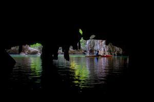 Thailand: A Kayaker Explores the Limestone Caverns under a Karst in Thailand by Ben Horton