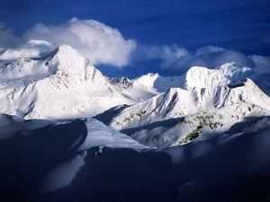 The Chugach Mountain Range in Alaska by Ben Horton