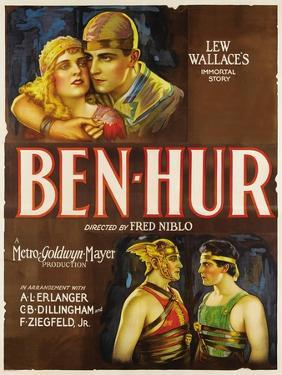 """Ben-hur, 1925, """"Ben-hur: a Tale of the Christ"""" Directed by Fred Niblo"""