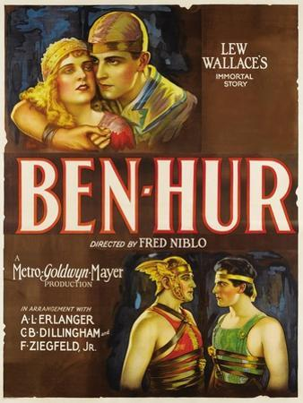"Ben-hur, 1925, ""Ben-hur: a Tale of the Christ"" Directed by Fred Niblo"