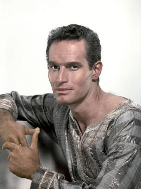 BEN-HUR, 1959 directed by WILLIAM WYLER Charlton Heston (photo)