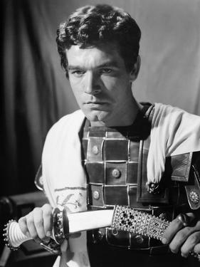 BEN-HUR, 1959 directed by WILLIAM WYLER Stephen Boyd (b/w photo)